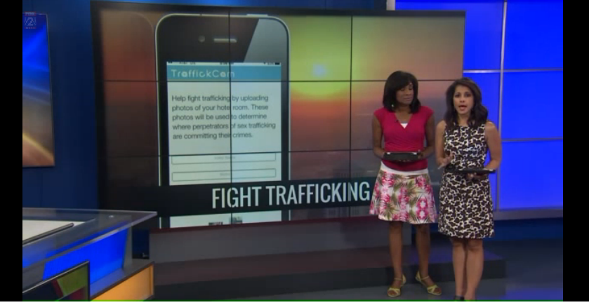Fox 2 St. Louis: Snapping a picture of your hotel room could help stop human trafficking
